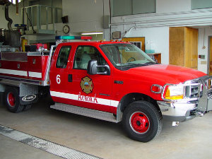 AFF brush truck9