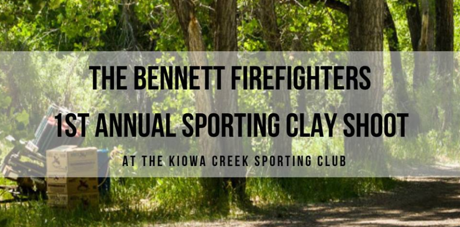 Bennett FFs Clay Shoot for CPFF Foundation this Saturday